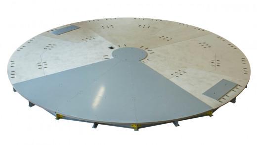 Draaiplateau Ø 4 m | kopen