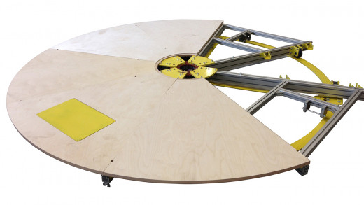 Draaiplateau Ø 3 m | huren