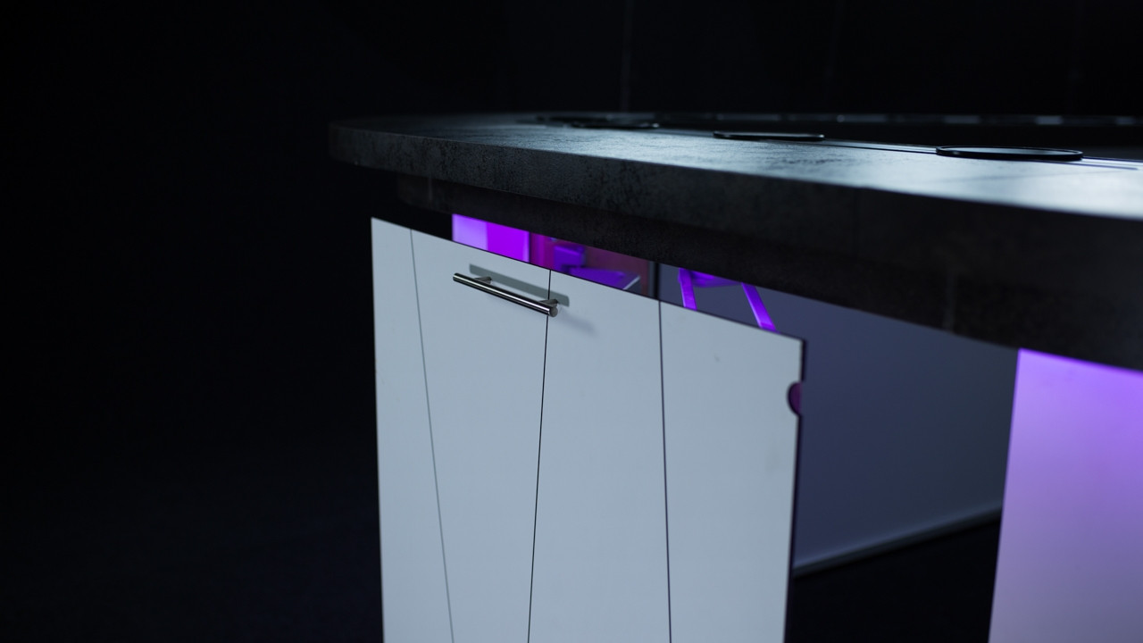 Mobiel Toilet Kopen : Mobiele bar met lopende band kopen pre motion