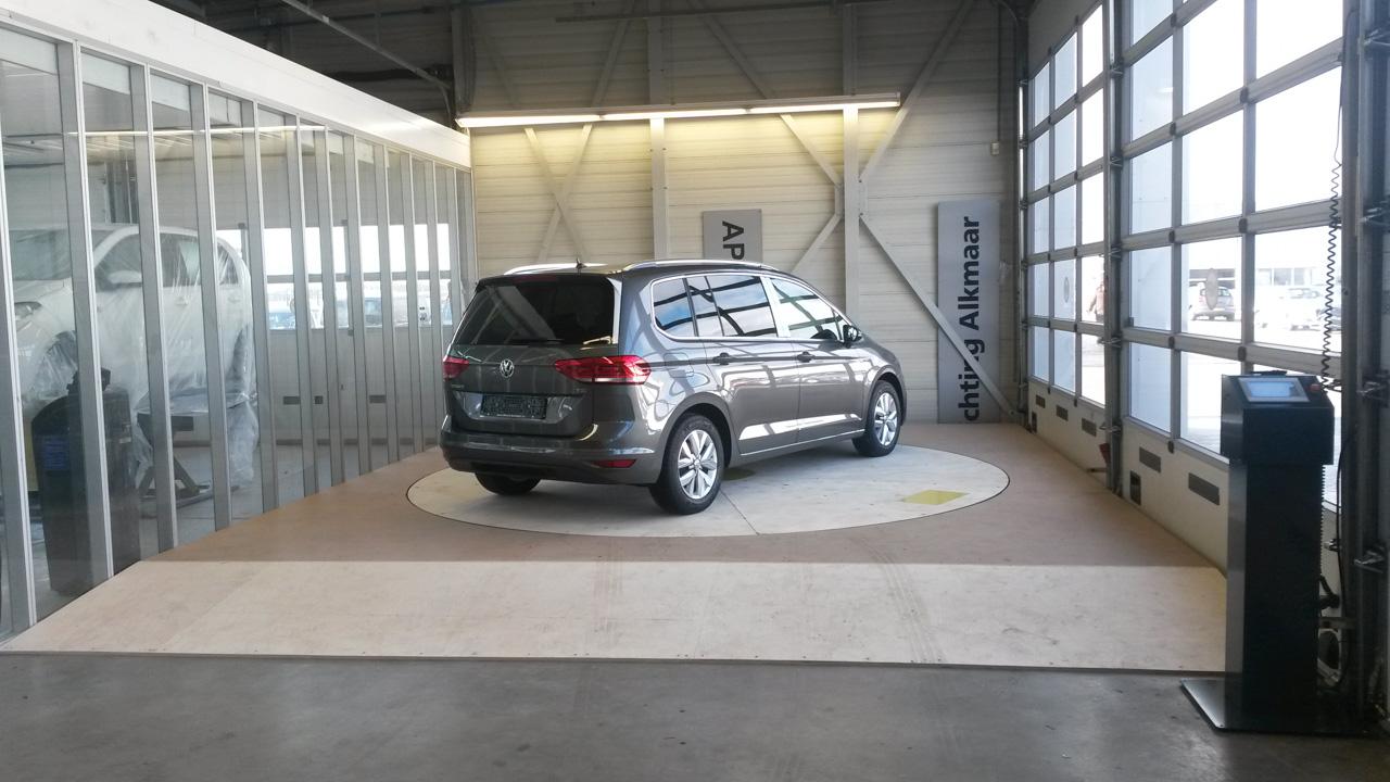 Draaiplateau voor auto