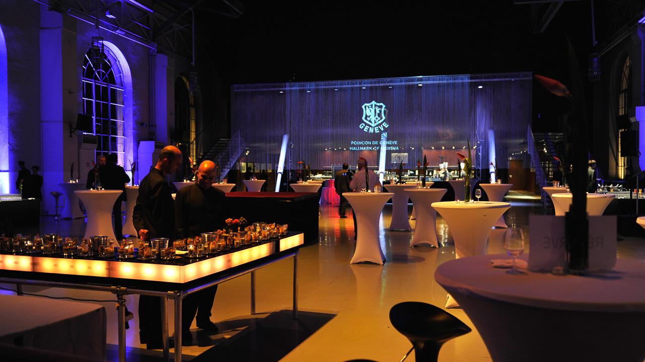 Timelab event catering Geneva