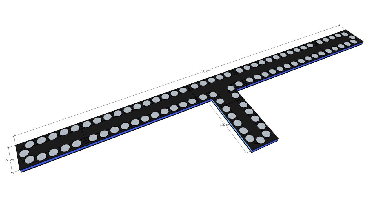 Gerry Weber Open Halle conveyor belt