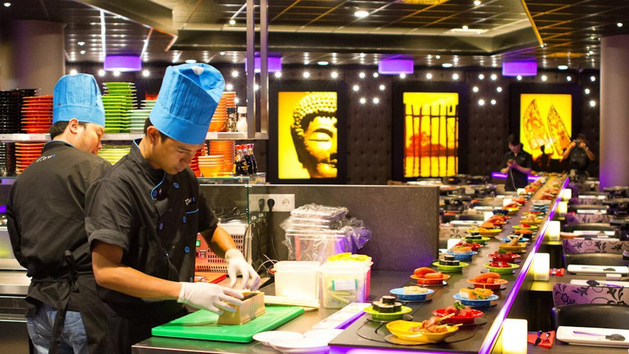 Sushi restaurant Fusion Amsterdam